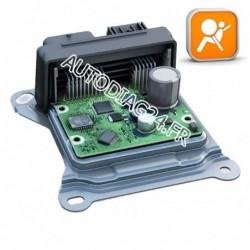 Réparation Calculateur D'Airbag Renault Clio Autoliv 550 42 08 00, 550420800, 7700414214 - 68HC11E9