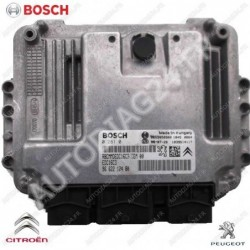 CALCULATEUR MOTEUR PEUGEOT 207 1.6 HDI BOSCH 0281013868, 0 281 013 868, 9663755480, 96 637 554 80, 9653958980, EDC16C34