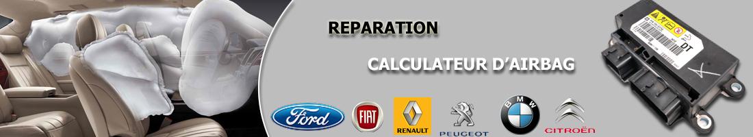 réparation calculateur airbag fiat Peugeot Citroën Audi vw Seat Skoda Renault Mercedes smart BMW